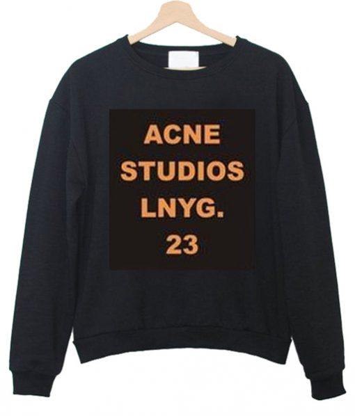 acne studios lnyg Unisex Sweatshirts