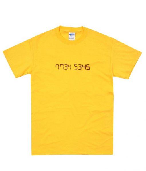 7734 5354 t-shirt