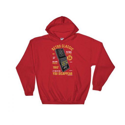 Classic Tetris Hooded Sweatshirt