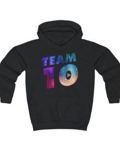Kids Team 10 Galaxy Logo Hoodie