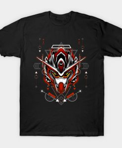 00-x3 Gundam Custom Build sacred geometry T-Shirt