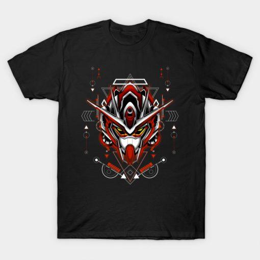 00-x3 Gundam Custom Build sacred geometry T-Shirt