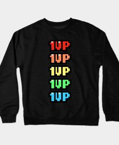 1Up Your Life Crewneck Sweatshirt