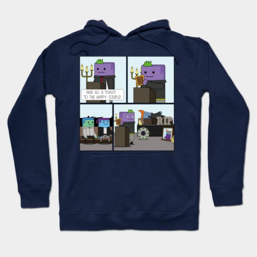 A Toast To The Happy Couple Hoodie