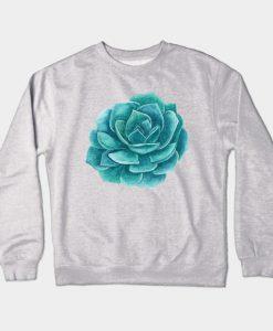 Abstract Cactus Design Crewneck Sweatshirt