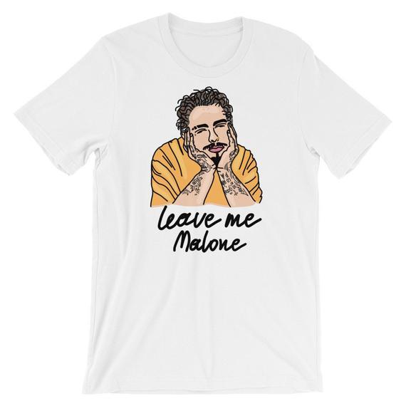 Post Malone Leave: Ivo Adventures Tshirt