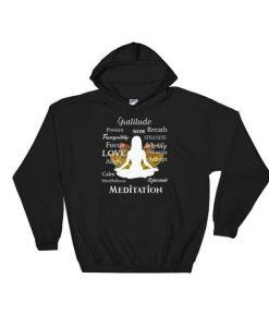 Yoga Meditation Hoodie