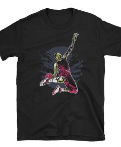 Zombie Slam dunk Basketball Halloween T-Shirt