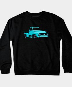1955 Ford F-100 - stylized Crewneck Sweatshirt