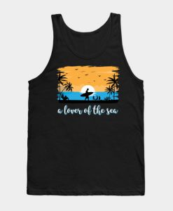 A Lover Of The Sea Tank Top