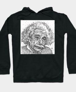 ALBERT EINSTEIN - ink portrait Hoodie