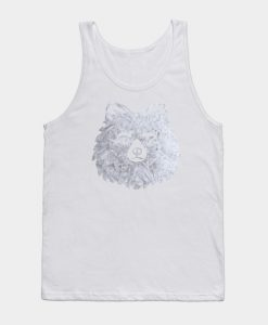 Abstract Puppy Design Tank Top