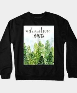 Adventure Awaits Crewneck Sweatshirt