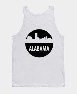 Alabama Skyline Cutout Tank Top