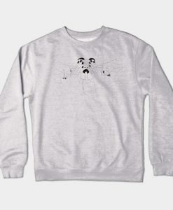 3 Wise Monkeys Crewneck Sweatshirt