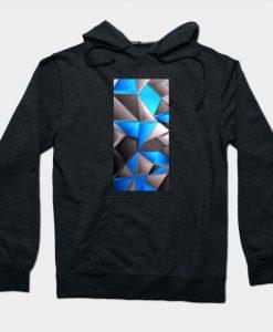3D Polygonal Triangles Hoodie