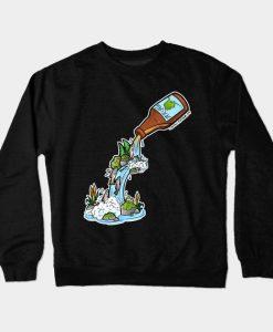 Alaska Beer Garden Crewneck Sweatshirt