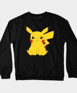 yellow pikachu t shirt Crewneck Sweatshirt