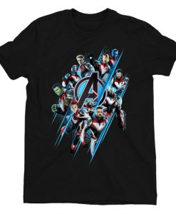 Avengers Endgame A Team T-Shirt