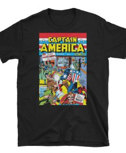 Captain America #1 Unisex T-shirt