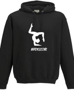 iLeisure Girls Personalised 3 Pointed Pose Dance Hooded